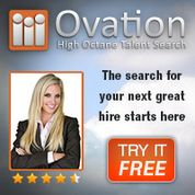 Ovation is a hiring tool for employers. It allows employers to create professional job descriptions, post opportunities to any job board. When job candidates apply for the jobs in the Ovation job post, the application manages the candidates with a ranking system that brings the best candidates to the top.